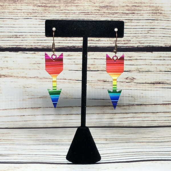 Arrow Serape Earrings