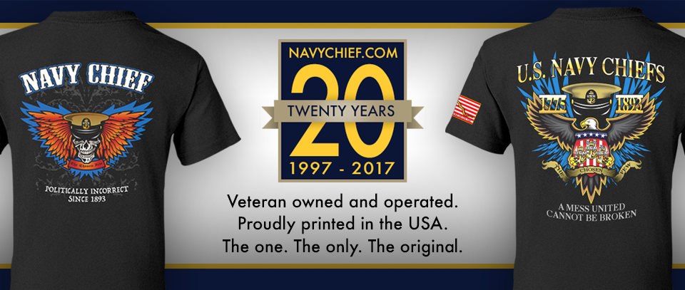 NavyChief.com 20th Anniversary