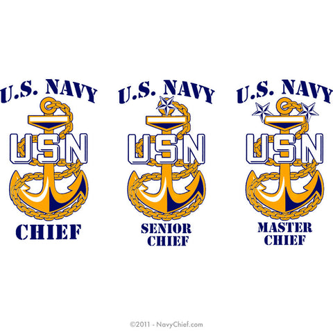 "Navy Chief ""Anchor Rank"""