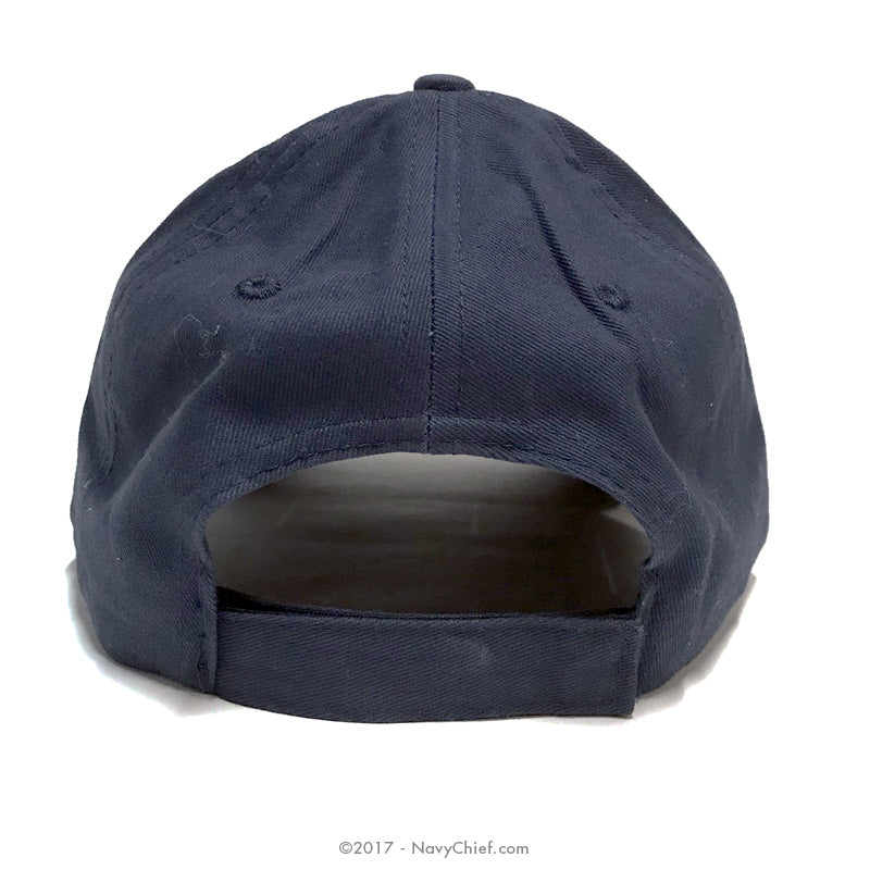 Embroidered CPO Anchor Hat, Navy