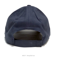 Embroidered SCPO Anchor Hat, Navy - NavyChief.com - Navy Pride, Chief Pride.