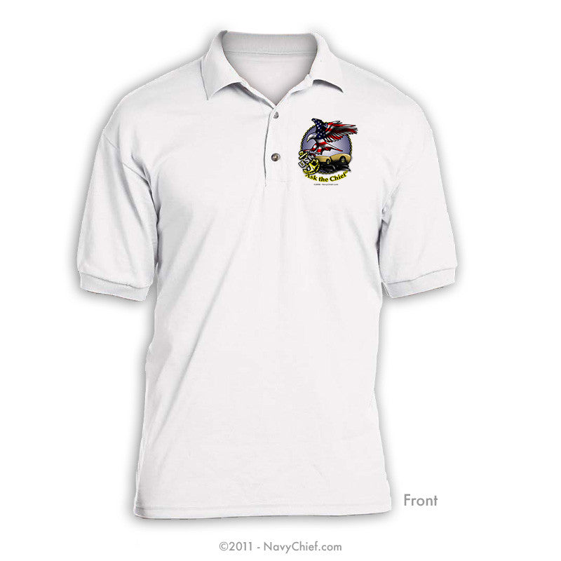 """Ask the Chief"" Polo"