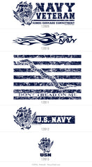 Build Your Own Navy Pride Shirt