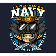 U.S. Navy Rescue Swimmer Hoodie, Navy - NavyChief.com - Navy Pride, Chief Pride.
