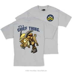 """Chief Thing"" Tee - Grey"