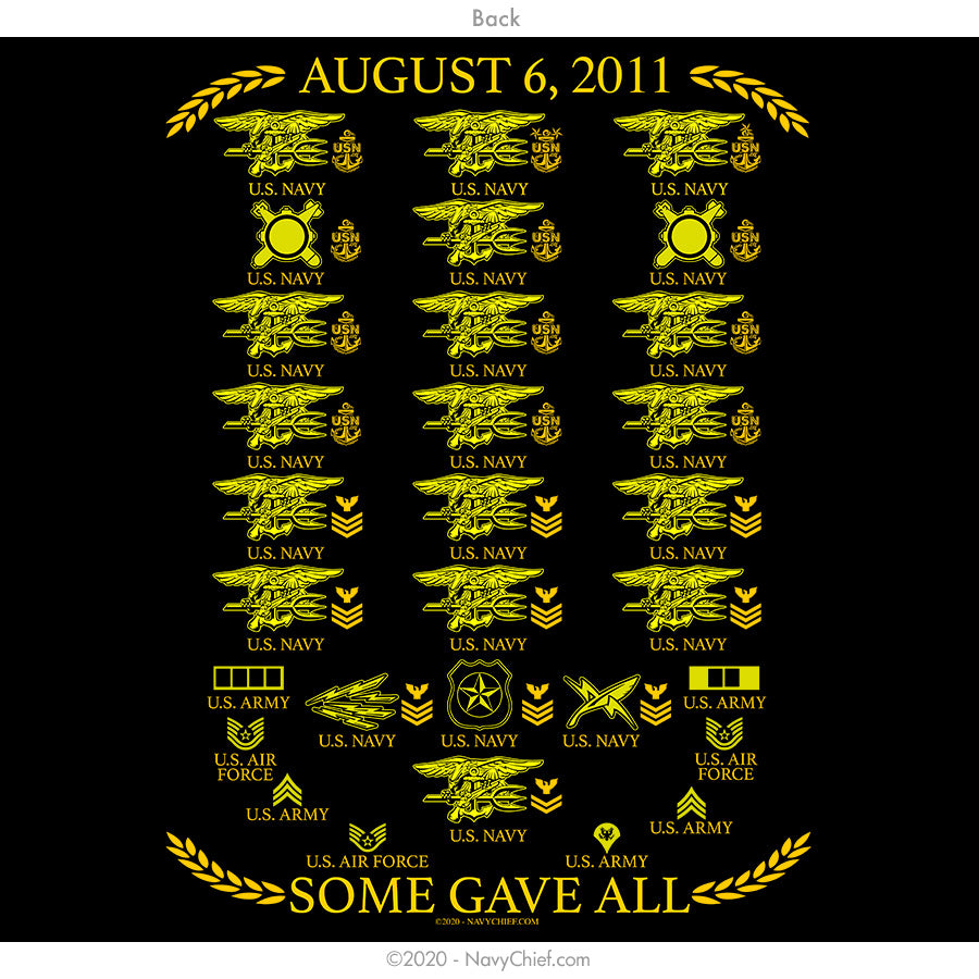 """Aug 6th Tribute"" Tee - Black"