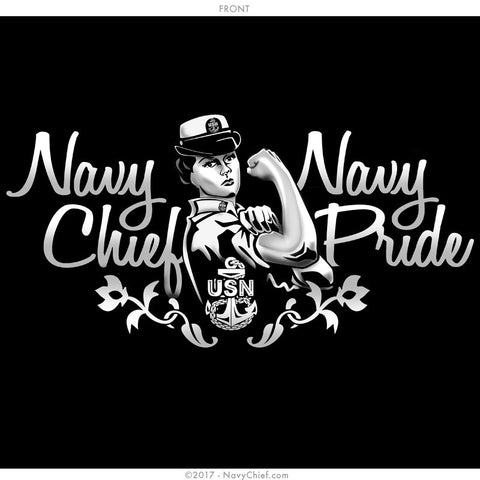 "Female ""Chief Pride"" Tank, Black"