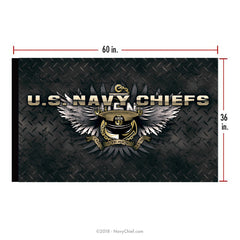 """The Chosen Few"" 3X5 Flag - NavyChief.com - Navy Pride, Chief Pride."