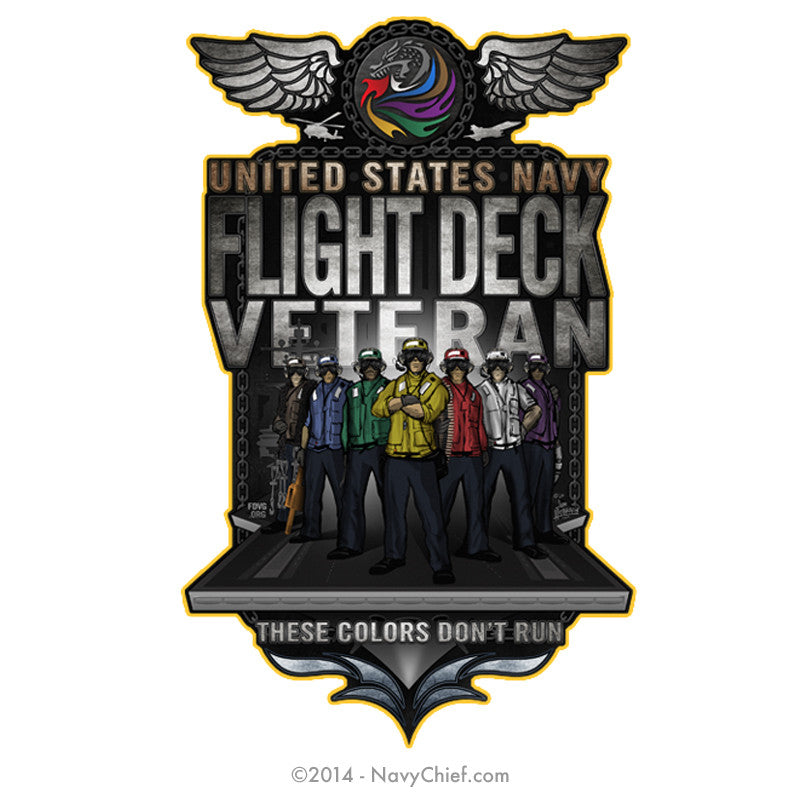 """Flight Deck"" Mouse Pad - NavyChief.com - Navy Pride, Chief Pride."