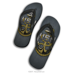 Anchor FlipFlops :: E7-9 - NavyChief.com - Navy Pride, Chief Pride.