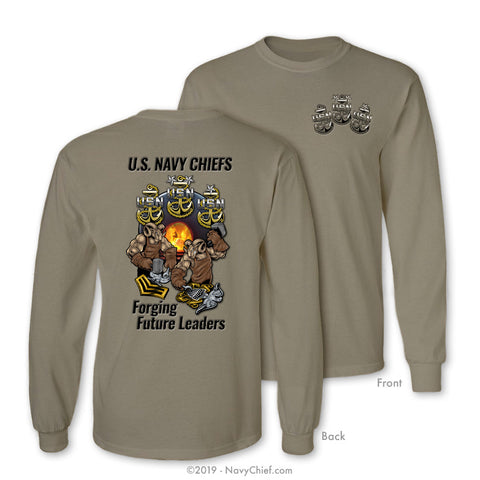 Forging Future Leaders Long Sleeve, Khaki