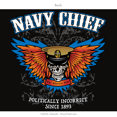 Navy chief politically incorrect since shirt png 240x240 Navy chief 1893 e162f55527af
