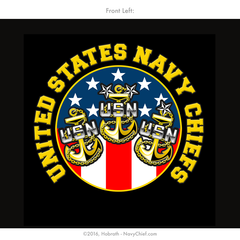 "NEW! Navy Chiefs ""A Mess United Cannot Be Broken"" T-shirt, Black - NavyChief.com"