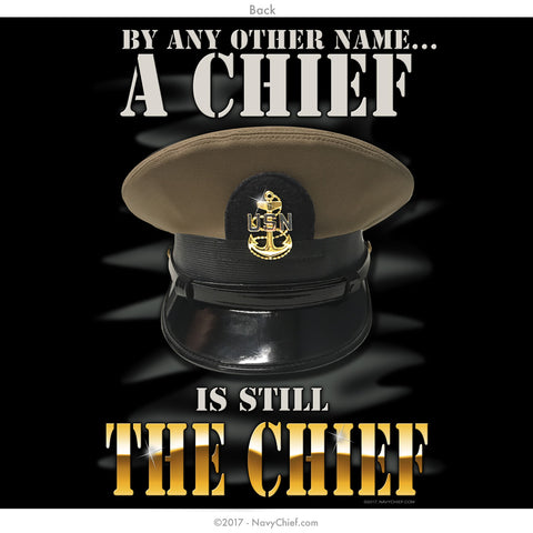 """THE CHIEF"" Long Sleeve Tee, Black - NavyChief.com - Navy Pride, Chief Pride."
