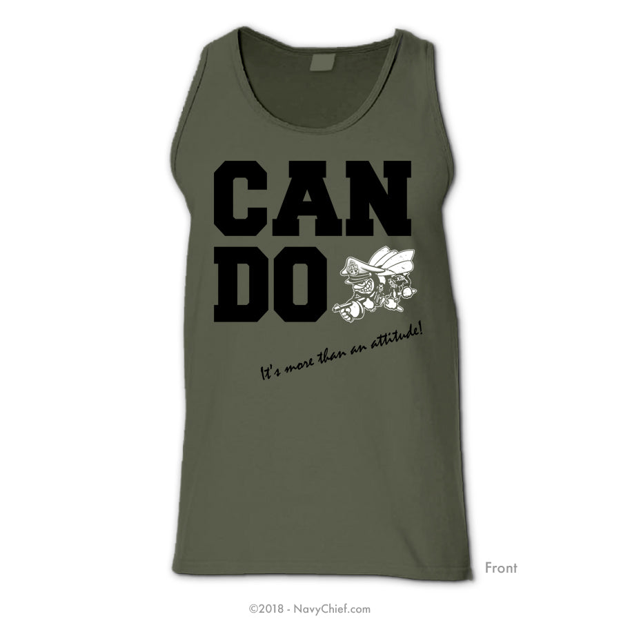 "Seabee ""CAN DO"" - Tank - NavyChief.com - Navy Pride, Chief Pride."
