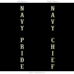 """Honor the Anchor"" Long Sleeve Tee, Black - NavyChief.com - Navy Pride, Chief Pride."