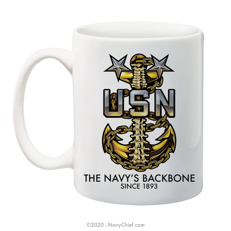 "MCPO ""Backbone"" Anchor - 15 oz Coffee Mug"