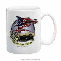 """Ask the Chief"" 15 oz Coffee Mug"