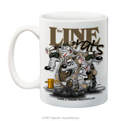 """Line Rats"" 15 oz Coffee Mug"