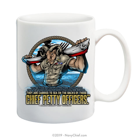 """Carried to Sea"" - 15 oz Coffee Mug"