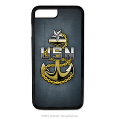 Navy Senior Chief Anchor Mobile Phone Cover (iPhone & Samsung) - NavyChief.com - Navy Pride, Chief Pride.