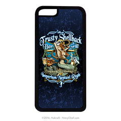 """Trusty Shellback Bar & Grill"" Mobile Phone Cover (iPhone & Samsung) - NavyChief.com - Navy Pride, Chief Pride."