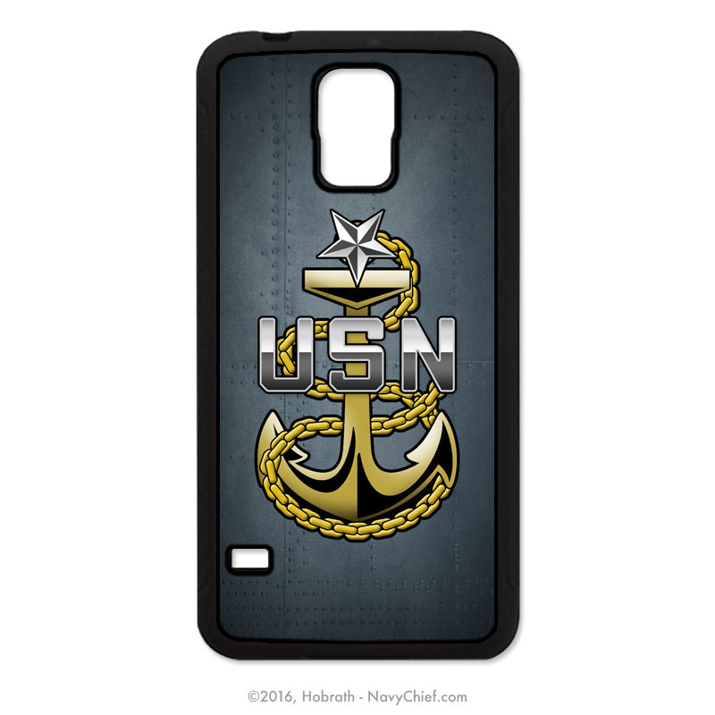 Navy Senior Chief Anchor Mobile Phone Cover (iPhone & Samsung)