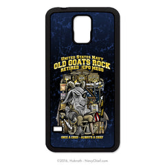 """Old Goats Rock"" Retired Navy Chief Mobile Phone Cover (iPhone & Samsung)"