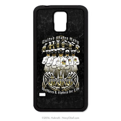 "United States Navy Chiefs ""Brothers & Sisters for Life"" Mobile Phone Cover (iPhone & Samsung)"