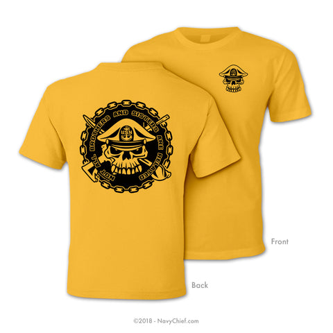 Bro/Sis Related - Gold Tee - NavyChief.com - Navy Pride, Chief Pride.