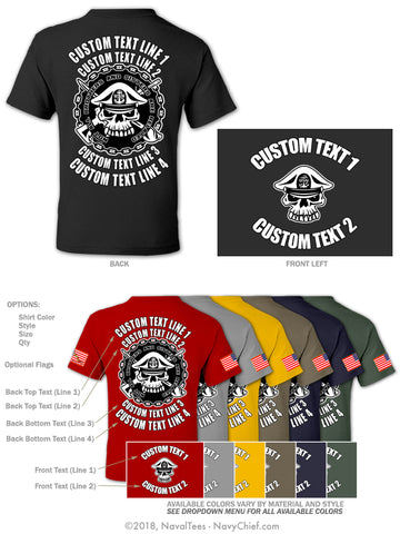 "Semi Custom Bulk Order - ""Related"" - NavyChief.com - Navy Pride, Chief Pride."