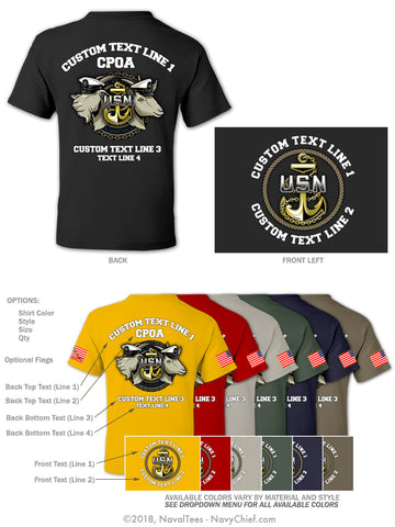 "Semi Custom Bulk Order - ""Train Mentor Lead"" - NavyChief.com - Navy Pride, Chief Pride."