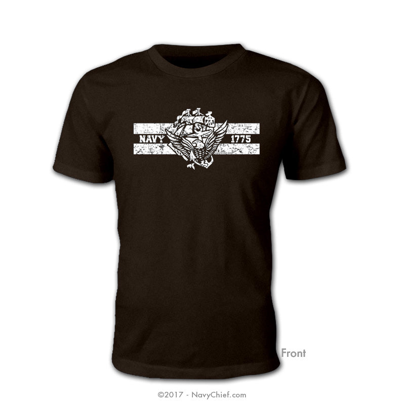 ACE 1775 T-shirt, Black - NavyChief.com - Navy Pride, Chief Pride.