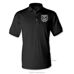 The Original Skull (CPO1) Polo, Black