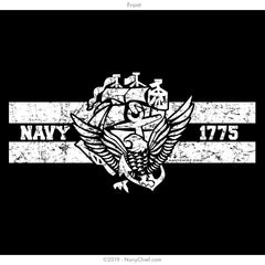 """ACE 1775"" T-shirt, Black - NavyChief.com - Navy Pride, Chief Pride."