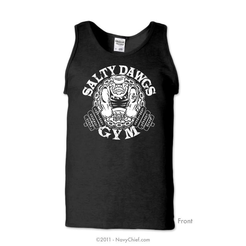 Salty Dawgs - Black Tank
