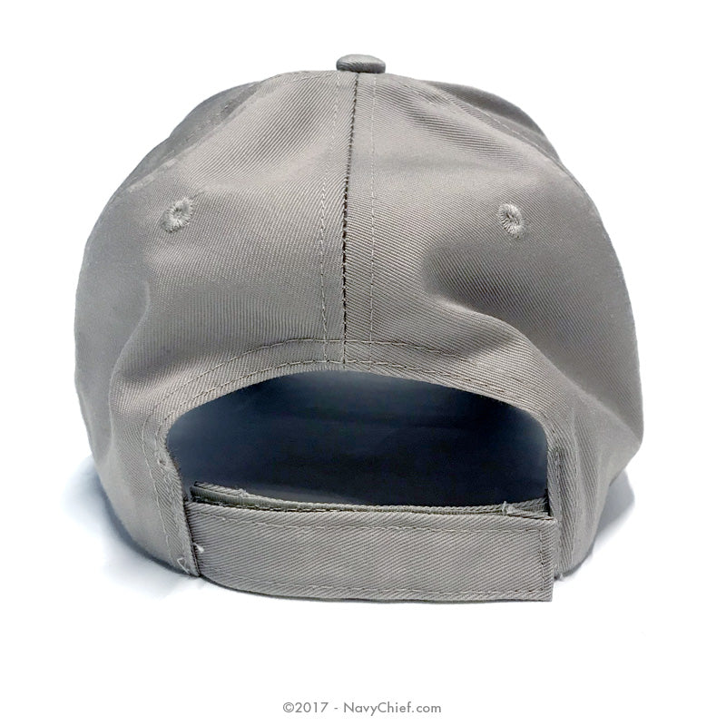 wholesale dealer 3777d 3b70b ... promo code for embroidered tradition anchor hat khaki navychief navy  pride 4738a ee075