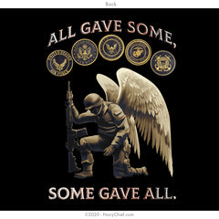 """Some Gave All"" Tee - Black"