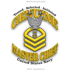 """Genuine MCPO"" Aluminum Water Bottle - Silver - NavyChief.com - Navy Pride, Chief Pride."
