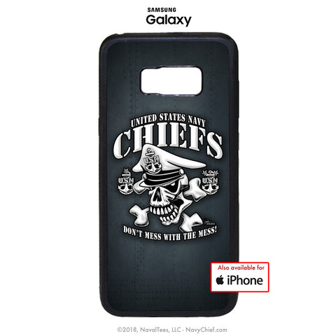 """Dont Mess With The Mess"" Mobile Phone Cover (iPhone & Samsung) - NavyChief.com - Navy Pride, Chief Pride."
