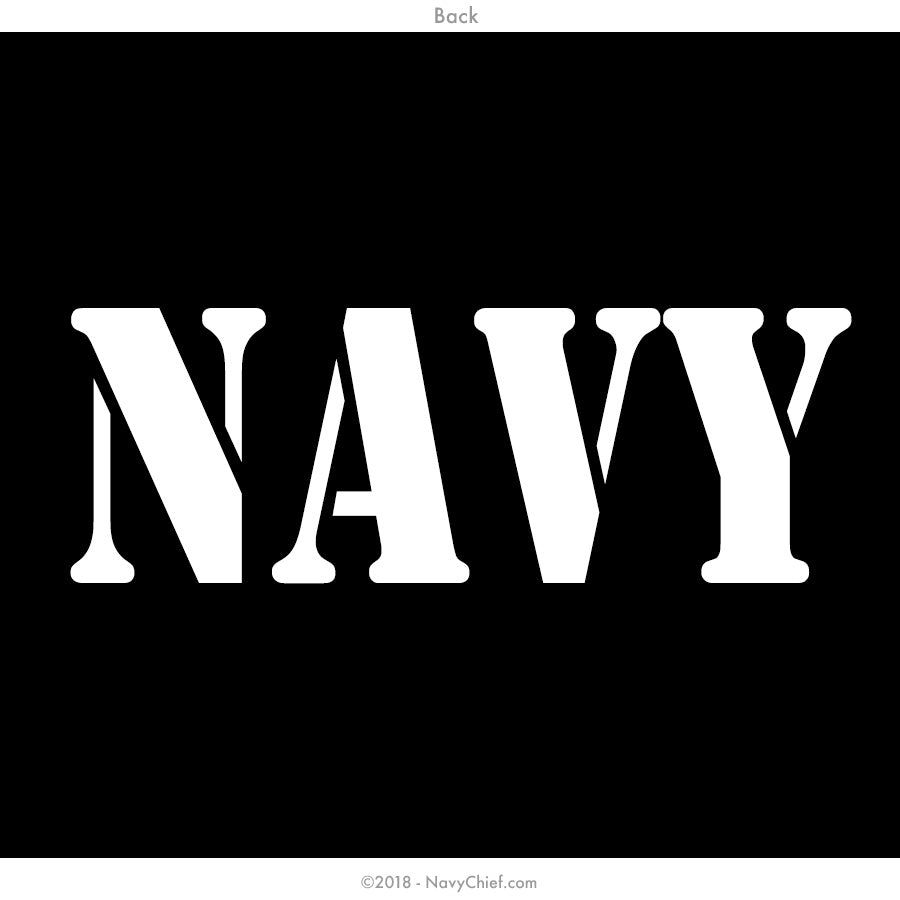 """NAVY"" -  WOMEN'S SHORTIE - NavyChief.com - Navy Pride, Chief Pride."
