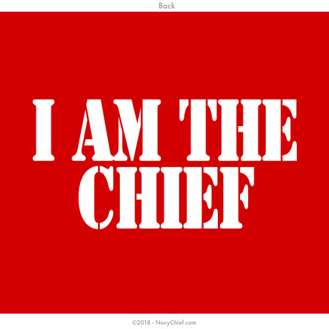 """I am the Chief"" -  WOMEN'S SHORTIE - NavyChief.com - Navy Pride, Chief Pride."