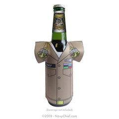 Build Your Own Enlisted (E-1 thru E-9) Khaki Koozie - NavyChief.com - Navy Pride, Chief Pride.