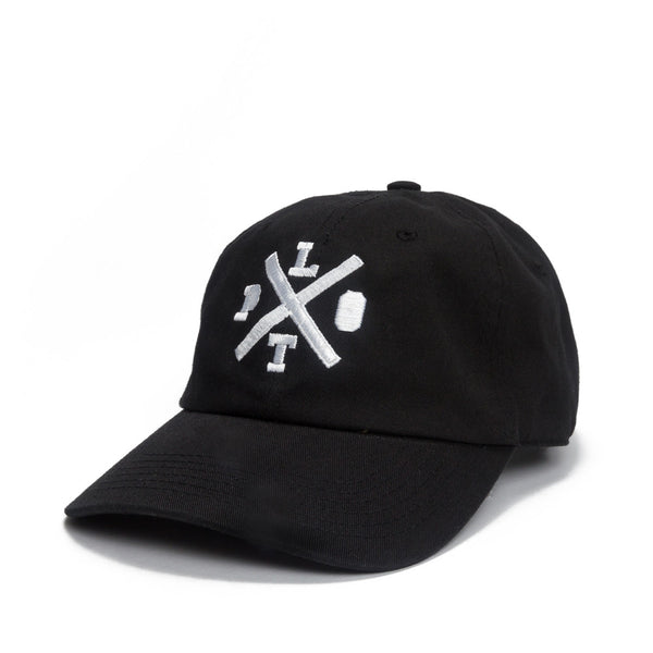 Plot Crossing Dad Hat - Black