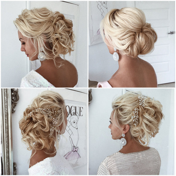 Effortless Bridesmaid Upstyles: Video Tutorial Set Of 3 – ULYANA ASTER