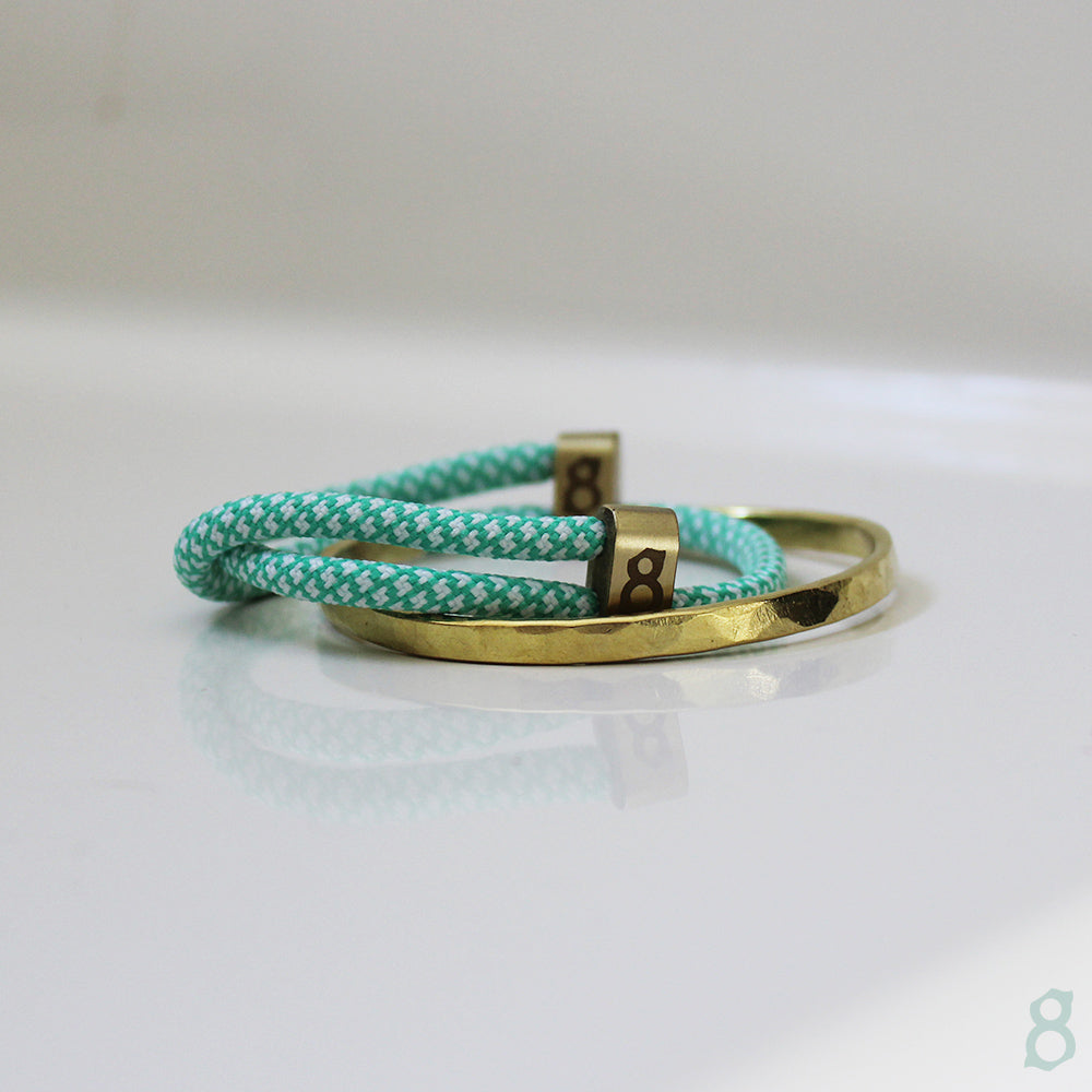 Tiffany and gold rope st8te bracelet