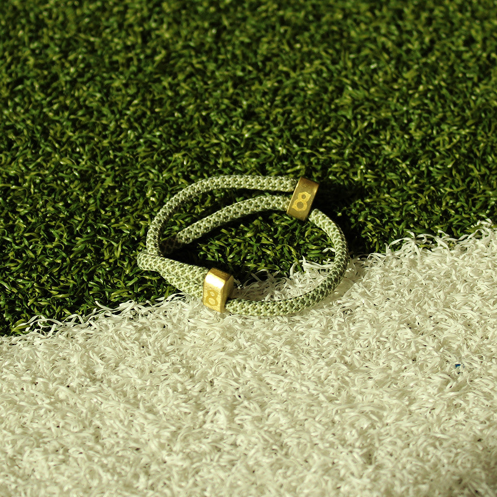 Green and Gold st8te bracelet