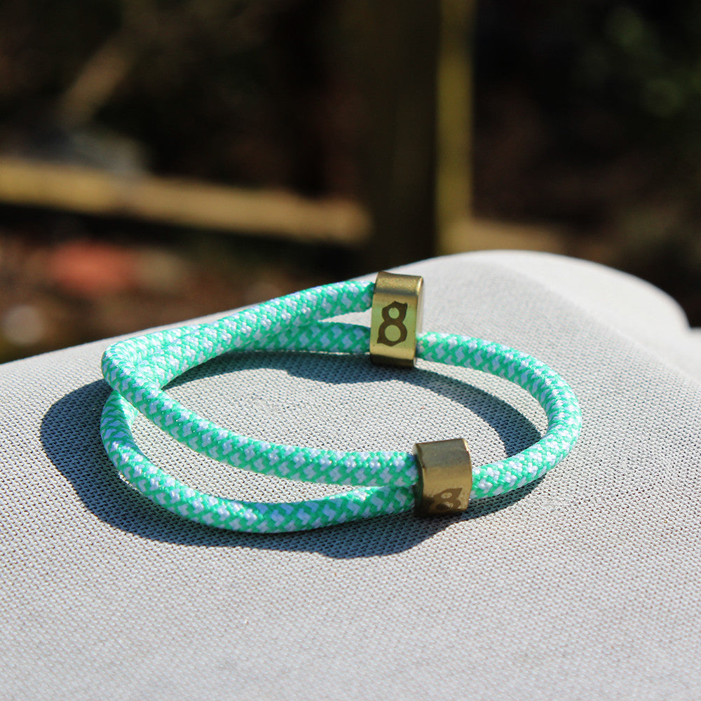 Light green (tiffany) st8te bracelet