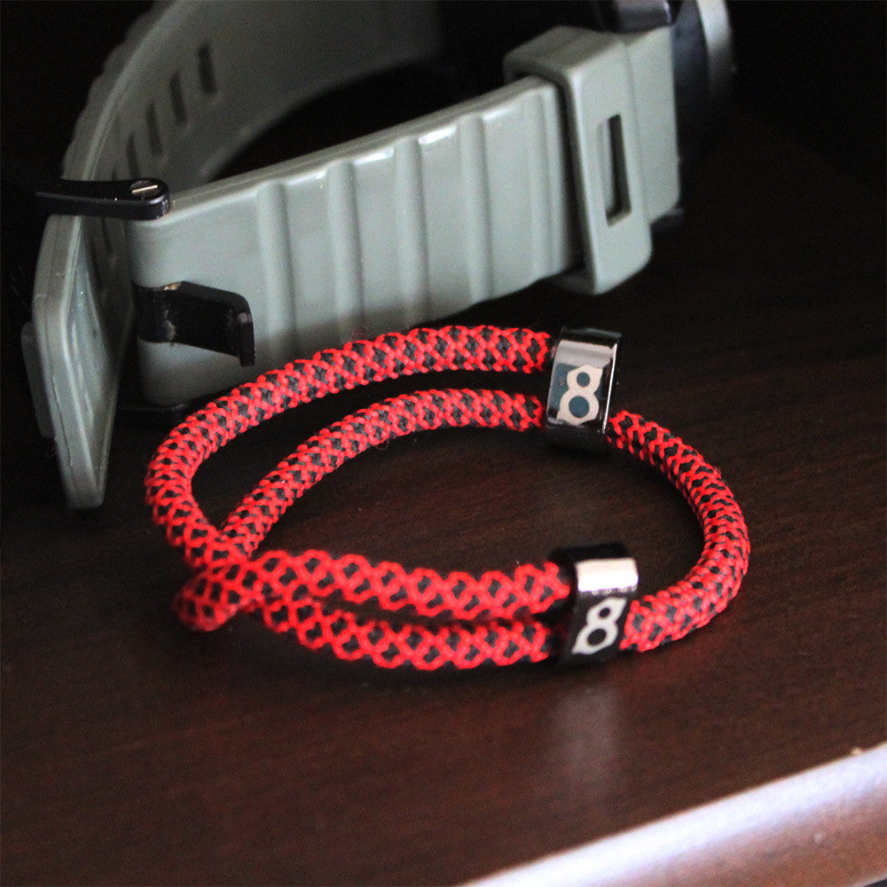 red black (bred) st8te bracelet