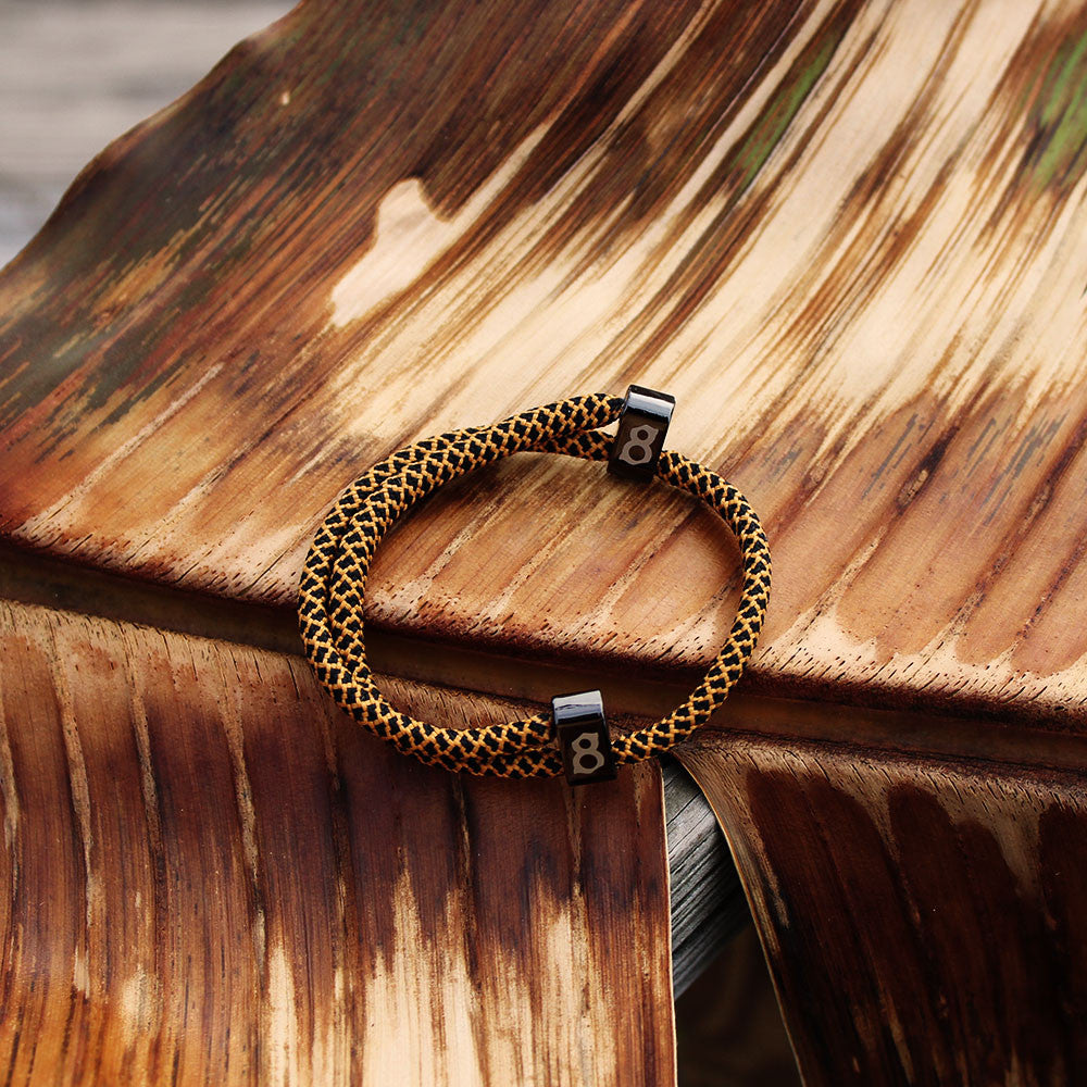 black and brown st8te bracelet